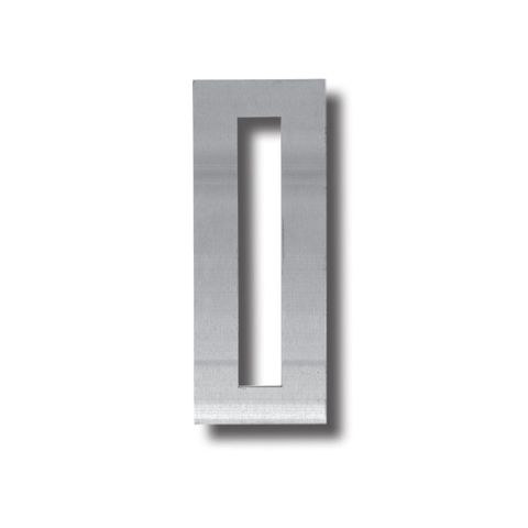 S/Steel SCAR PLATE - 195 x 75mm (Rectangle Cut-Out)