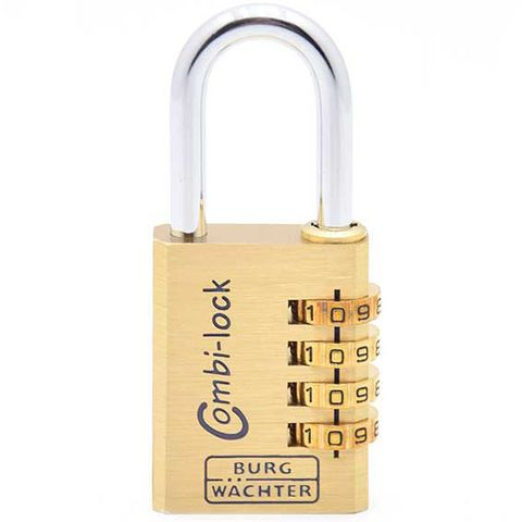 'Combi-Lock' 40mm  COMBI. PADLOCK - 4 Digit - CARDED
