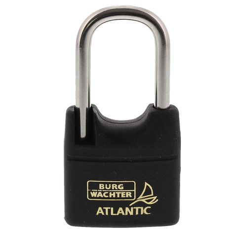 'Atlantic' 40/45mm L/SHACKLE  PADLOCK - CARDED (KD)
