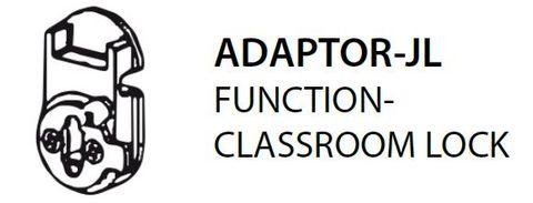 Mortice ADAPTOR JL = Classroom Lock Adaptor Left (PKT of 5)