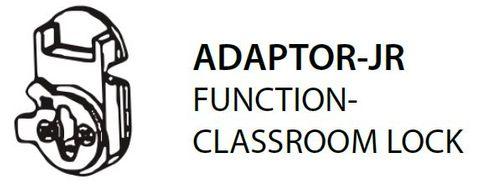 Mortice ADAPTOR JR = Classroom Lock Adaptor Right (PKT of 5)