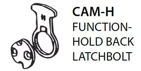 Mortice CAM-H = Hold Back Latch Bolt Cam (PKT of 5)