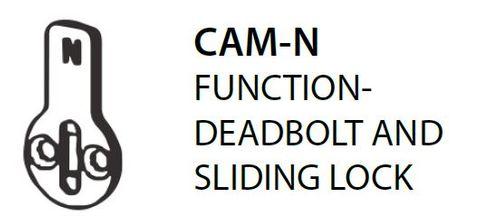 Mortice CAM-N = Deadbolt & Sliding Door Lock Cam (PKT of 5)