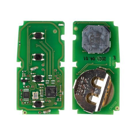 'XS-Series' TOYOTA style - UNIVERSAL SMART REMOTE ( PCB Only) - 4-Button