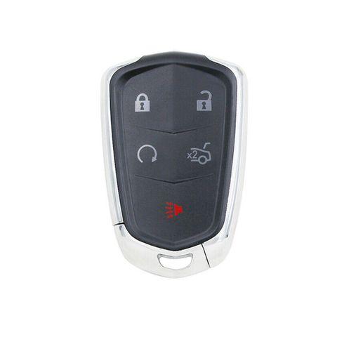 'ZB Series' SMART KEY - CADILLAC Style - 3 Button+2 Panic & Smart Start