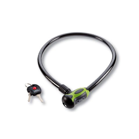 Keyed BICYCLE CABLE - 80cm Long (12mm Dia.) *Led Key Light*