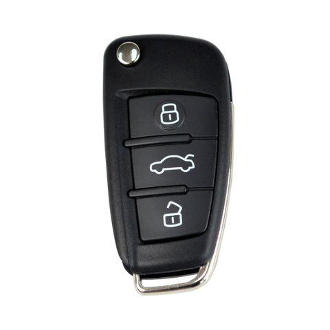 'B-Series' Flip Key REMOTE - AUDI Look - 3-Button (A6L)
