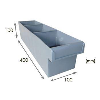 3-Compartment STORAGE TUB (Long/Narrow)