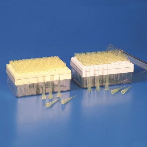 PIPETTE TIP - GILSON TYPE - 02-200ul - BOXED RACK