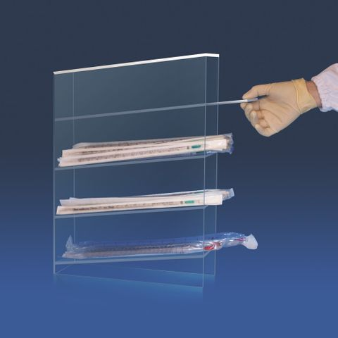 PIPETTE HOLDER - BENCHTOP (PMMA)