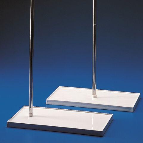 BURETTE STAND (PP Base / STEEL Rod)