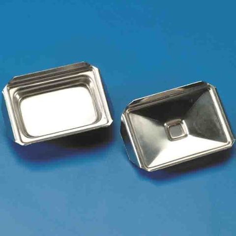 METAL TRAYS FOR HISTOLOGY - PKT of 10 (S/STEEL)