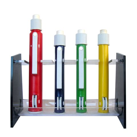 PIPETTE PUMPS 4-PLACE RACK/STAND