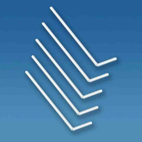 L-SHAPED BACTERIOLOGICAL SPREADERS - PKT OF 5 (PS)