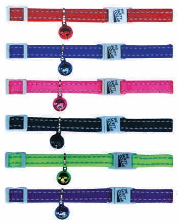 CAT NYLON REFLECTIVE COLLARS