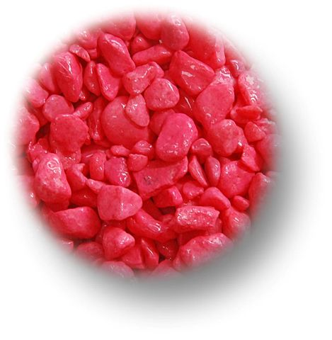 PAINTED FLURO PINK