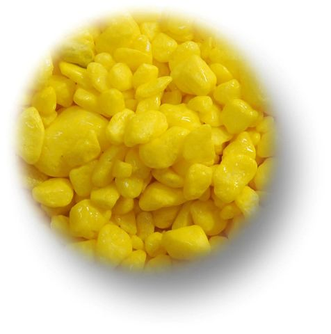 PAINTED YELLOW