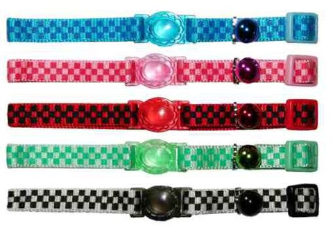 CAT CHECKERBOARD COLLARS