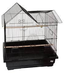Ctn 4 Blk Med.House Top Cage