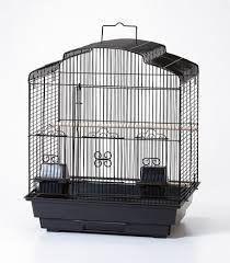 Ctn 4 Medium Tri Curved Cage Black
