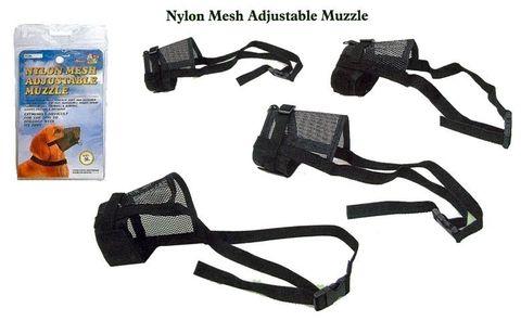 NYLON MESH MUZZLES
