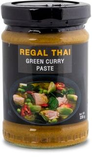 REGAL THAI 12x235gm GREEN CURRY PASTE