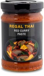 REGAL THAI 12x235gm RED CURRY PASTE