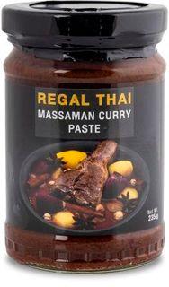 REGAL THAI 12x235gm MASSAMAN CURRY PASTE
