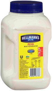 HELLMANS (4) 2.4kg REAL MAYONNAISE