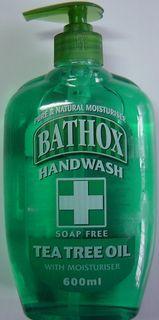 BATHOX 12x600ml HANDWASH ORANGE A/BACT