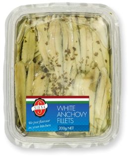 SIENA (12) 200g MARINATED WHITE ANCHOVY