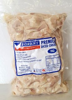 FOREST POULTRY 1kg PREMIUM DICED CHICKEN