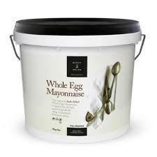 BIRCH & WAITE 10kg WHOLE EGG MAYONNAISE