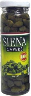 SIENA 12x100gm CAPERS IN VINEGAR