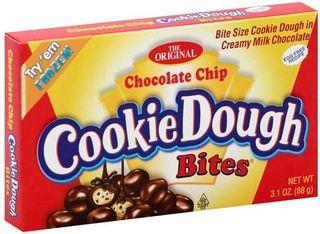 COOKIE DOUGH BITES 12x88gm CHOC CHIP