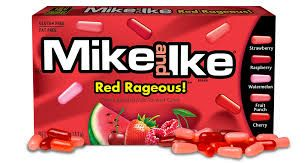 MIKE & IKE 12x141gm RED RAGEOUS