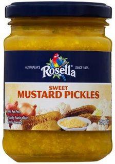 ROSELLA 6x250gm SWEET MUSTARD PICKLES