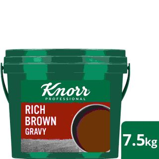 KNORR 7.5kg RICH BROWN GRAVY MIX