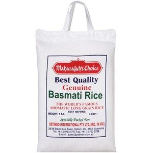 MAHARAJAHS CHOICE 5kg BASMATI RICE