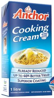 ANCHOR 1litre (12) COOKING CREAM