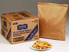 LAMB WESTON 6x2.27kg PLATTER FRIES