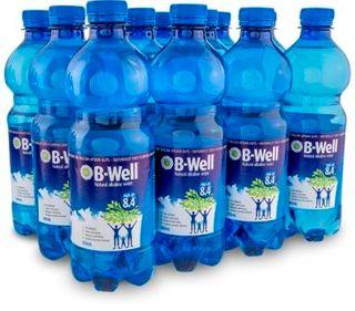 B-WELL 12x500ml ALKALINE WATER pH8.4