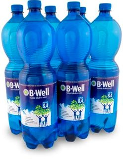 B-WELL 6x1.5 litre ALKALINE WATER pH8.4