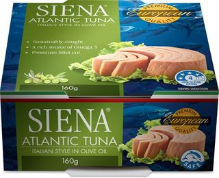 SIENA 12x160gm (4) SOLID TUNA OLIVE OIL