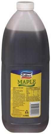 COTTEES (4) 3lt MAPLE SYRUP