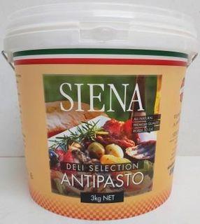 SIENA 3kg (2) H/STYLE SPLIT GREEN OLIVES