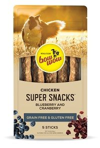 BOW WOW 8x5pk S/SNACK CHK B/BERRY CRANB