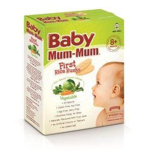 BABY MM 4x36GM RICE RUSK VEGETABLE