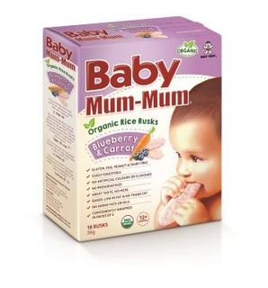 BABY MM 4x36GM RICE RUSK B/BERRY CARROT
