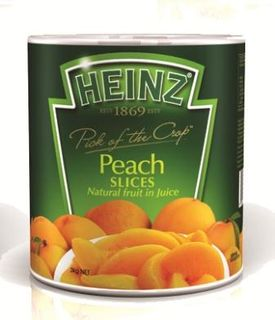 PEACH SLICES (3) A10 IN NATURAL JUICE